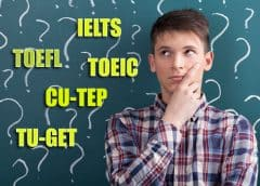 เลือก อะไรดี IELTS TOEFL TOEIC CU-TEP TU-GET