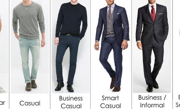 men dress code