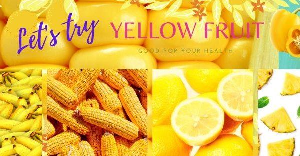 สรรพคุณของผักผลไม้สีเหลือง