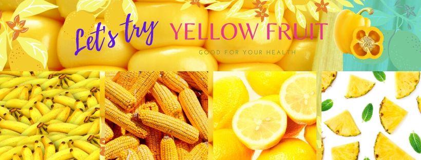 ผักผลไม้สีเหลือง